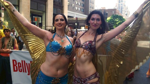Two Gorgeous Belly Dancers