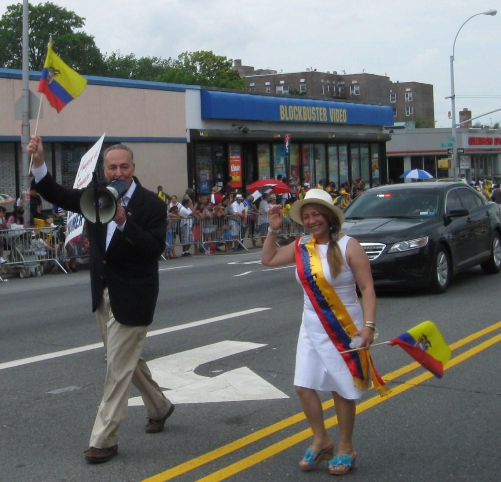 Pride and Sweat at the Ecuadorian Parade in Queens (2/6)