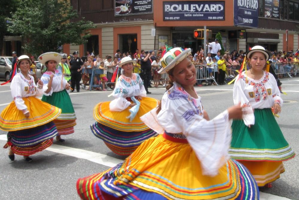 Pride and Sweat at the Ecuadorian Parade in Queens (1/6)