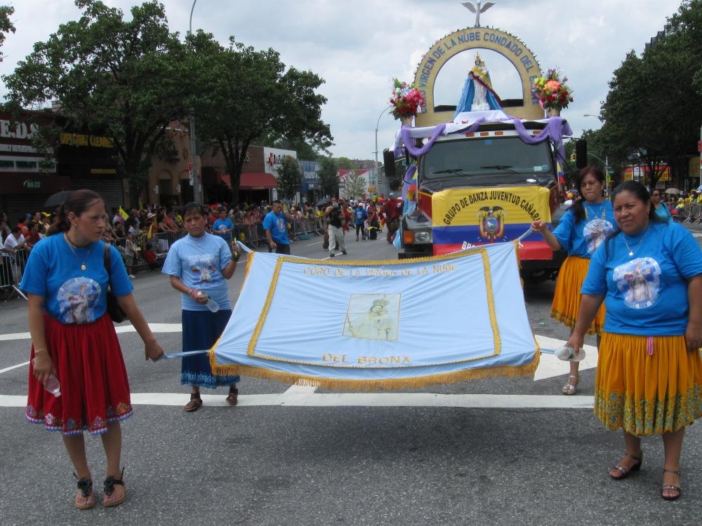 Pride and Sweat at the Ecuadorian Parade in Queens (4/6)