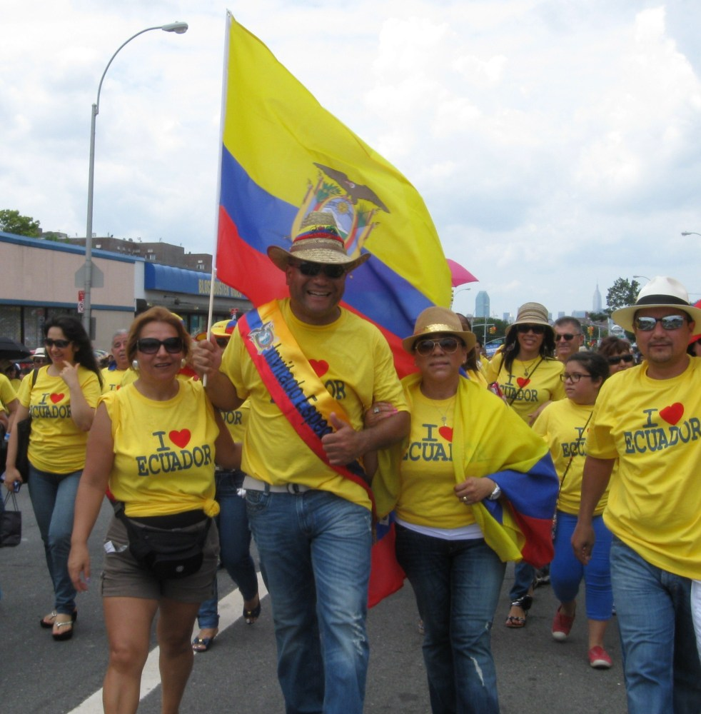 Pride and Sweat at the Ecuadorian Parade in Queens (5/6)