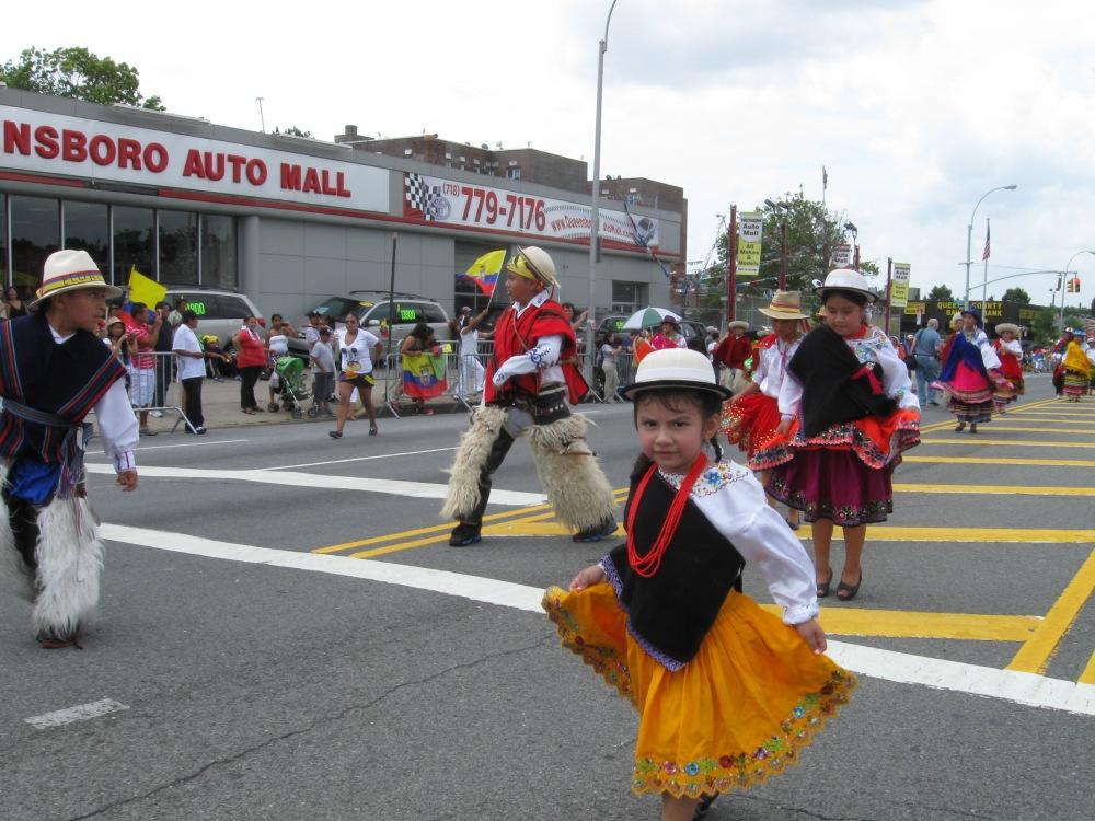 Pride and Sweat at the Ecuadorian Parade in Queens (6/6)