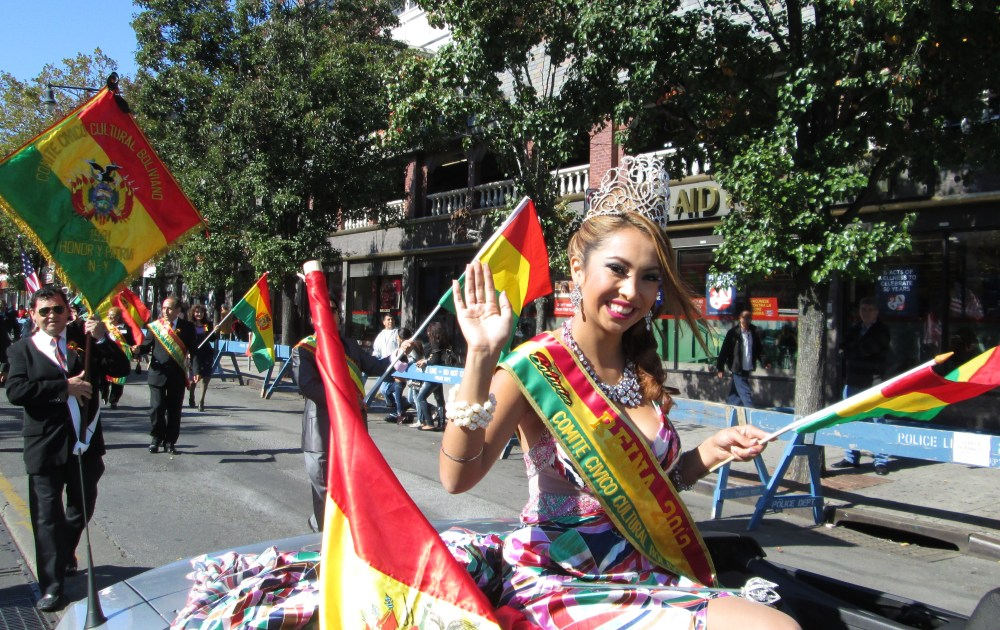 Happiness All Around at the Bolivian Parade in Queens  (2/6)
