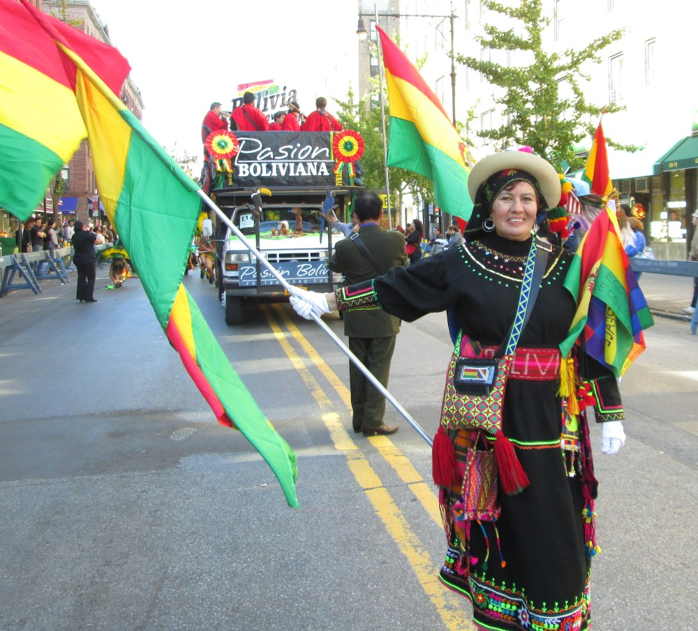 Happiness All Around at the Bolivian Parade in Queens  (1/6)