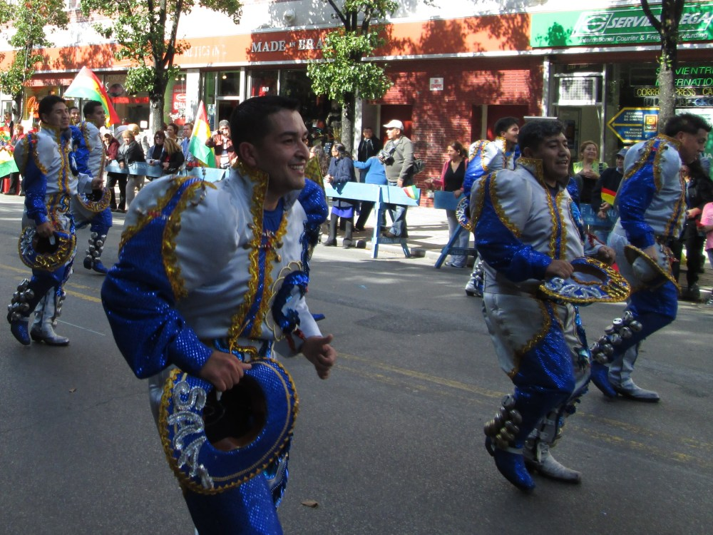 Happiness All Around at the Bolivian Parade in Queens  (4/6)