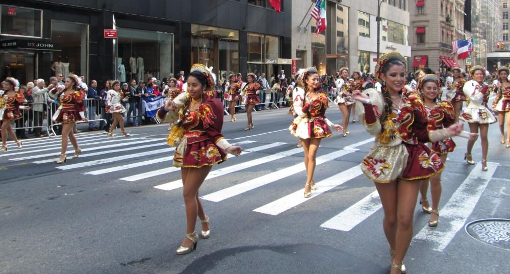 Hispanics Unite for One Great Parade (2/6)