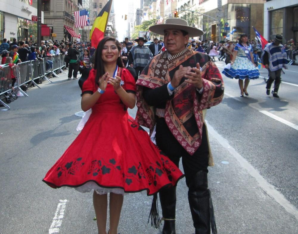Hispanics Unite for One Great Parade (3/6)