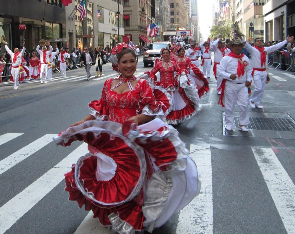 Hispanics Unite for One Great Parade (5/6)