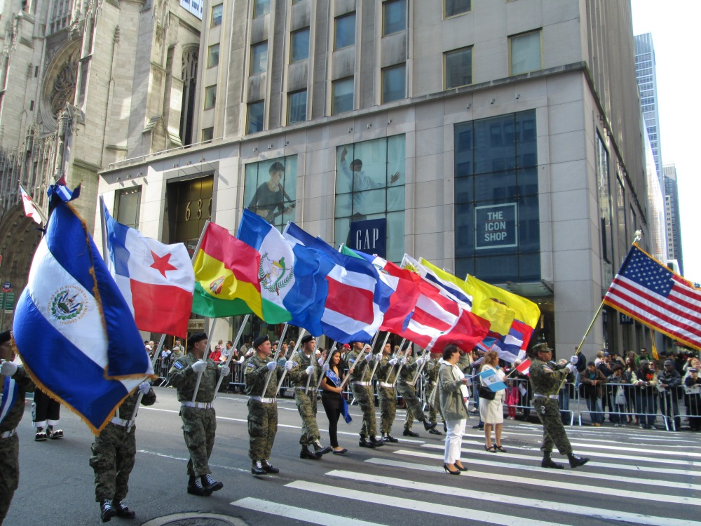 Hispanics Unite for One Great Parade (1/6)