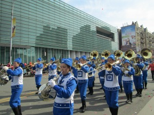 Falun Dafa at Flushing Parade
