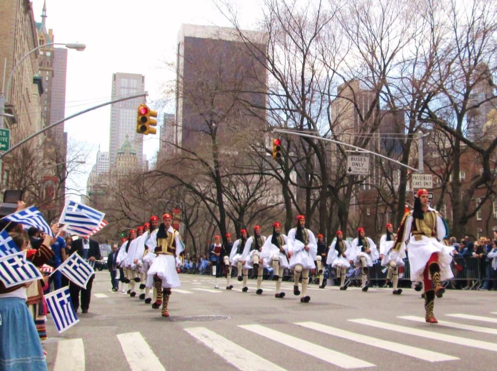 Greeks Unite in Celebration on 5th Ave. (1/6)