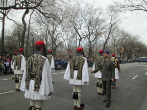 Greek Guards under Inspection