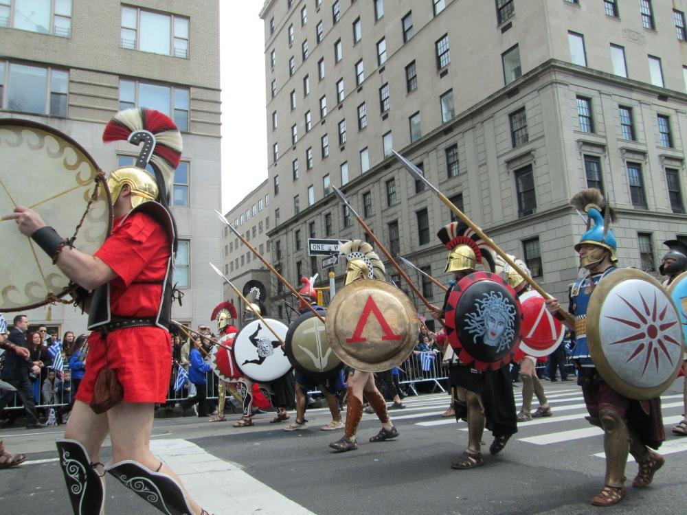 Greeks Unite in Celebration on 5th Ave. (4/6)