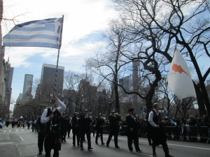 Greek and Cyprus flag wavers