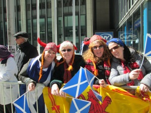 Scottish Revelers