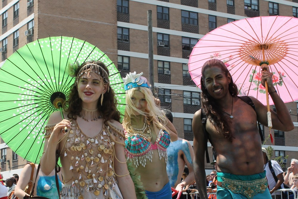 Seashells Abundant at the Mermaid Parade (6/6)