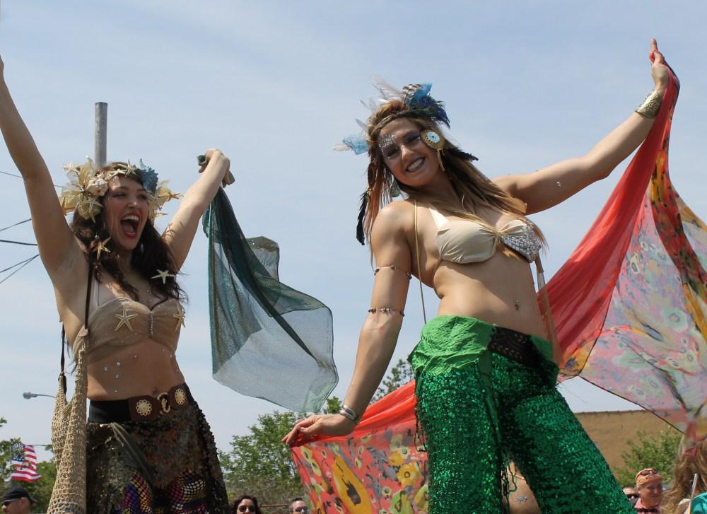 Seashells Abundant at the Mermaid Parade (1/6)