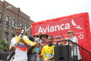 Avianca Float musicians