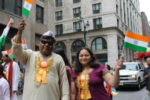 Couple enjoying the parade