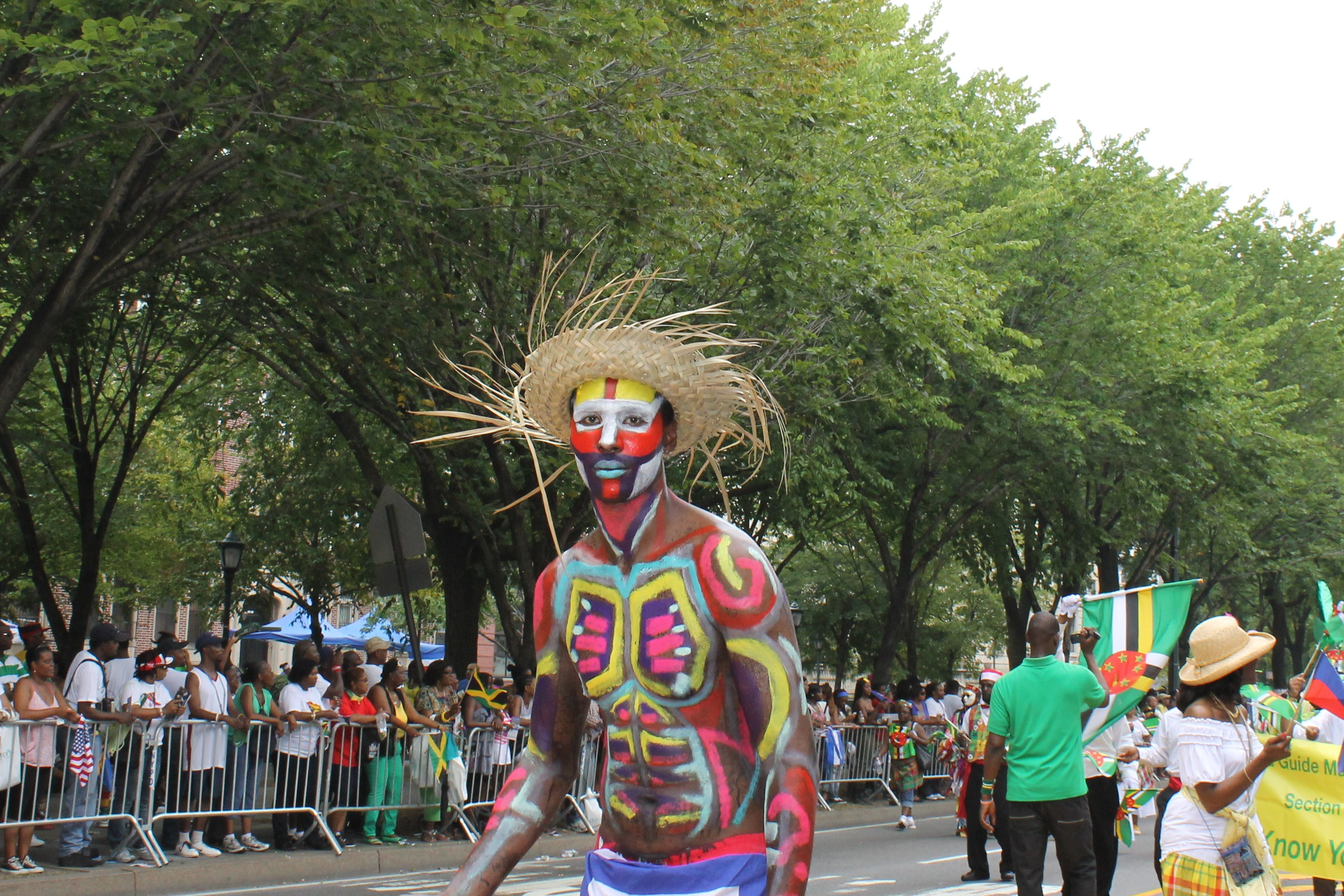 Black And White Queen Shines At The West Indian Day Parade