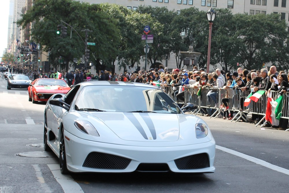 Italians Rev Up Their Hot Cars for Columbus Day (5/6)
