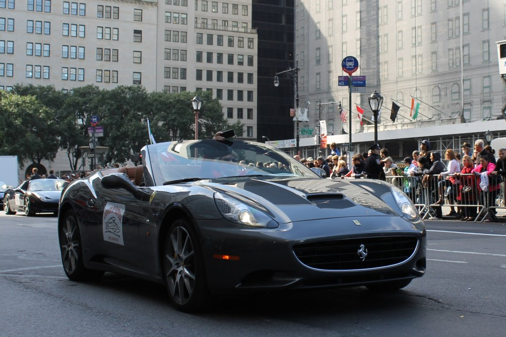 Italians Rev Up Their Hot Cars for Columbus Day (6/6)