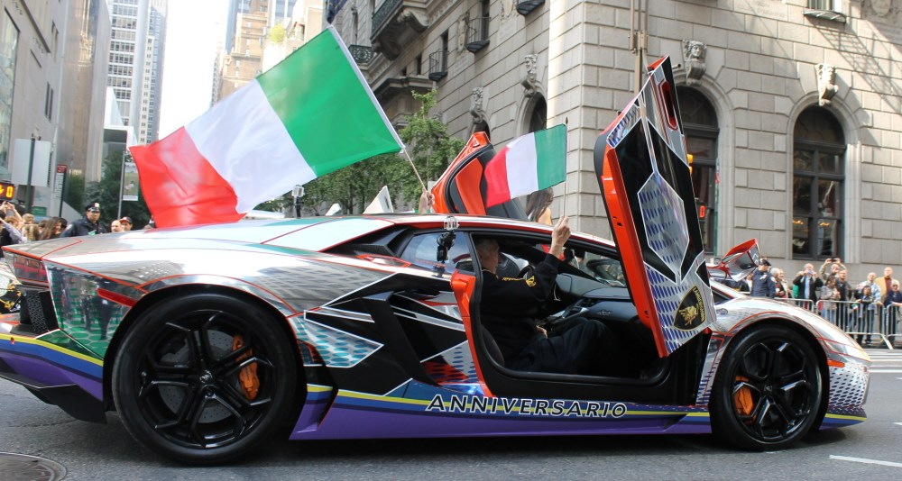 Italians Rev Up Their Hot Cars for Columbus Day (1/6)