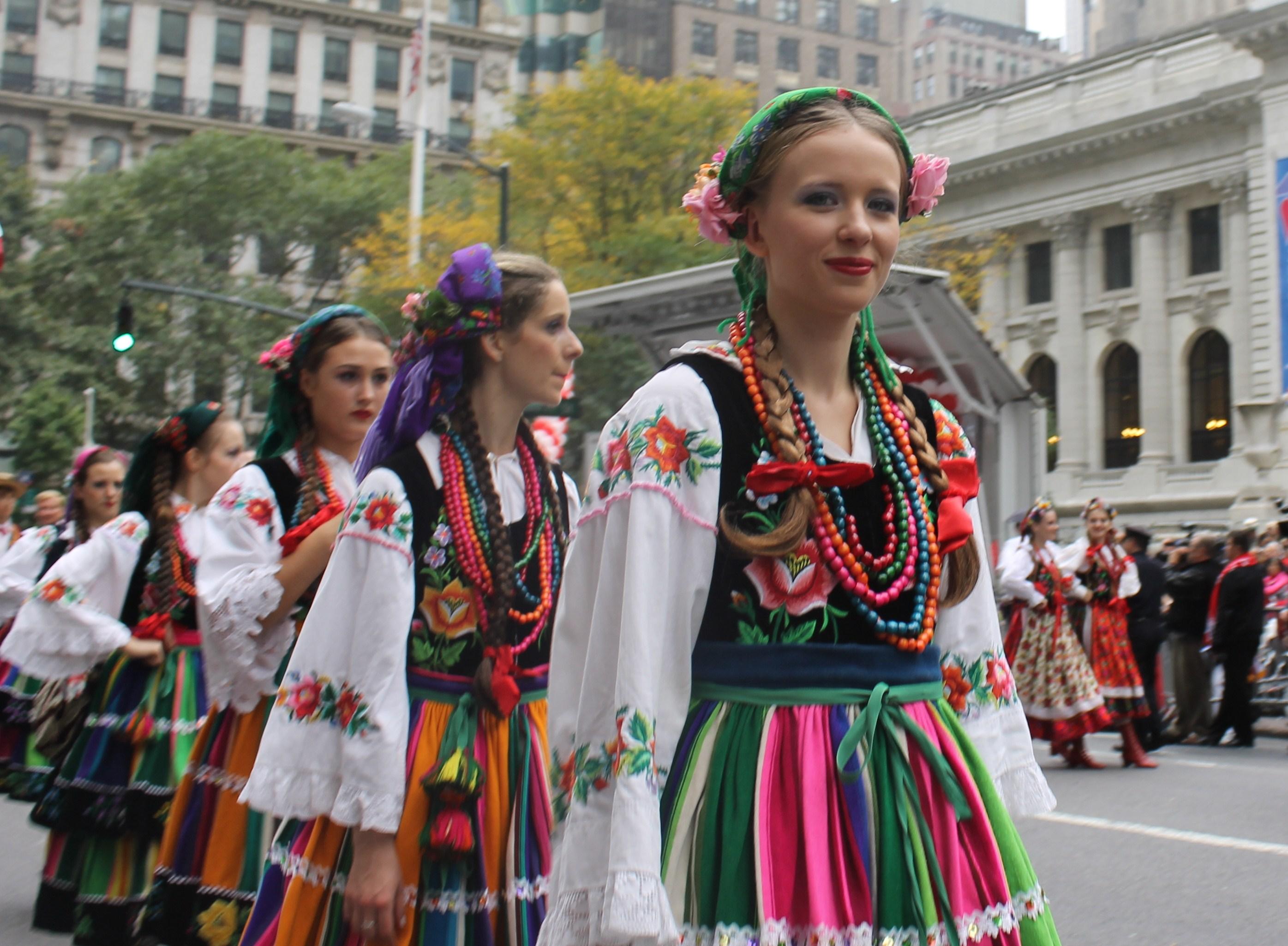 polish people   NYC Parade Life