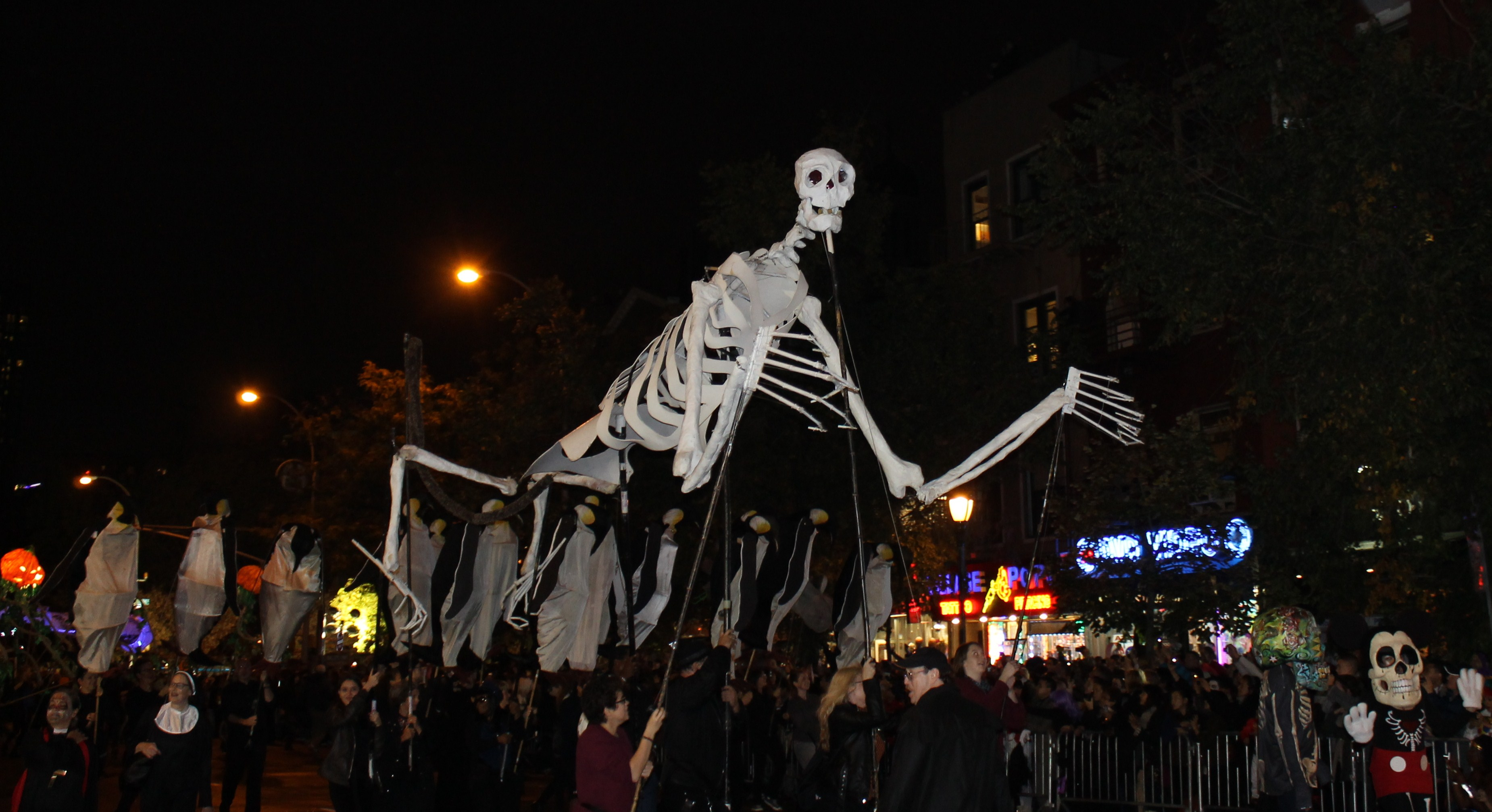 Monster Return for the Village Halloween Parade | NYC Parade Life