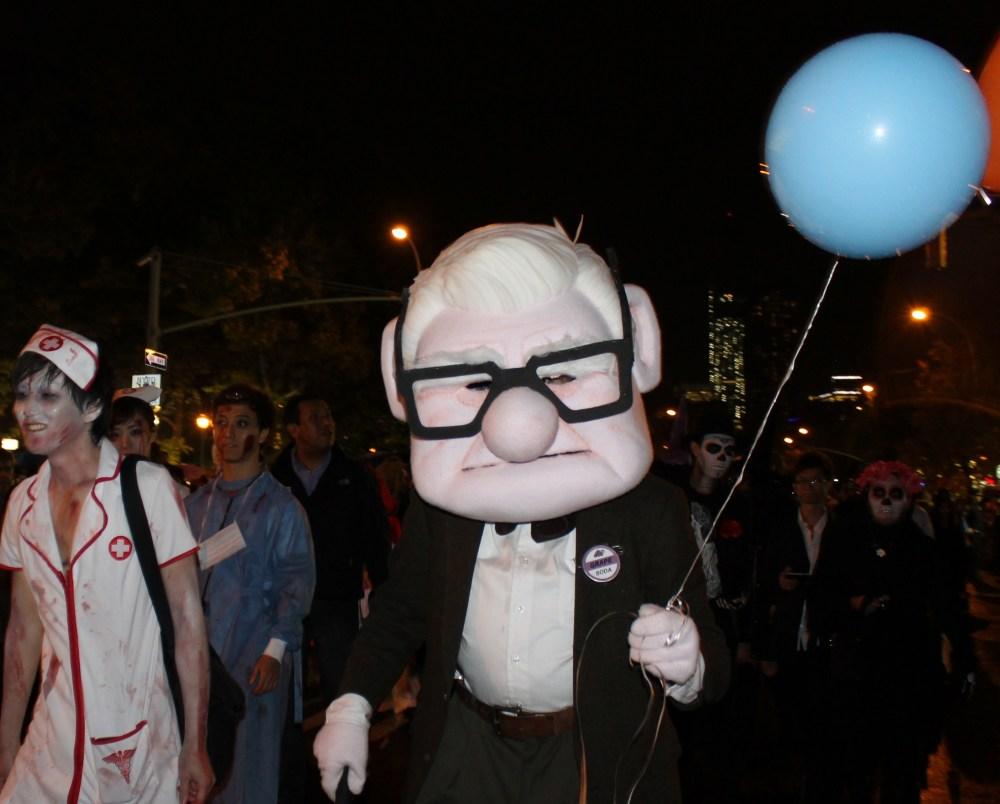 Monster Return for the Village Halloween Parade  (4/6)