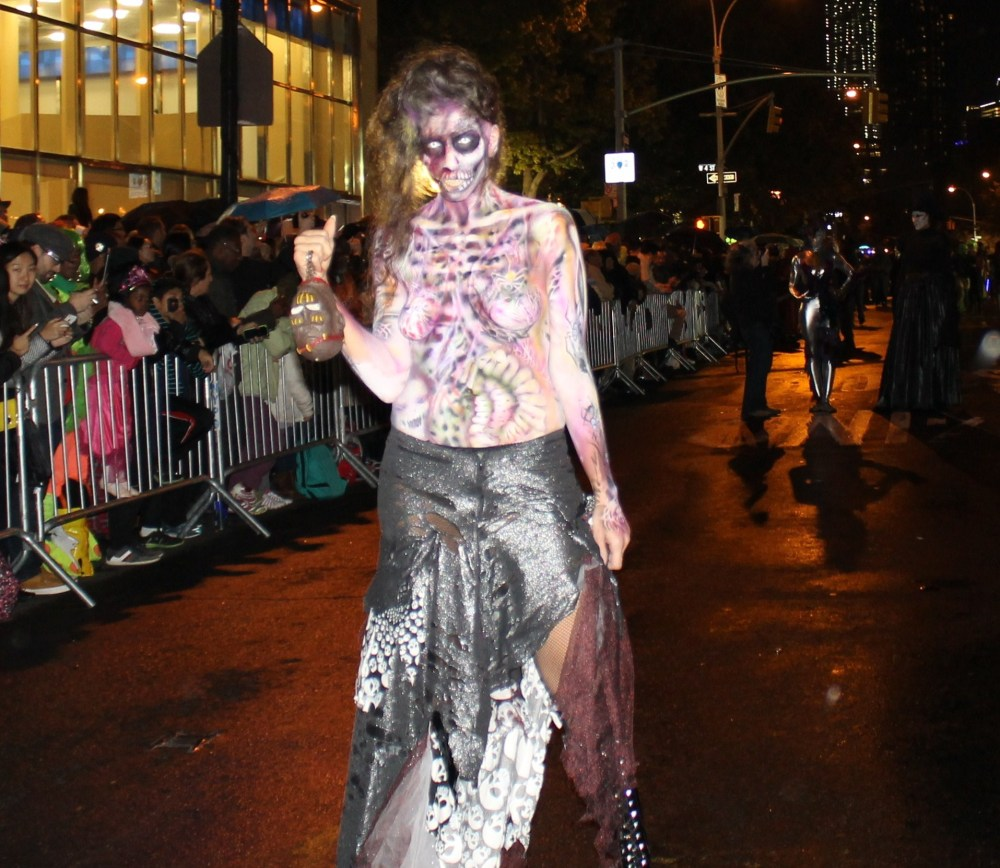 Monster Return for the Village Halloween Parade  (5/6)