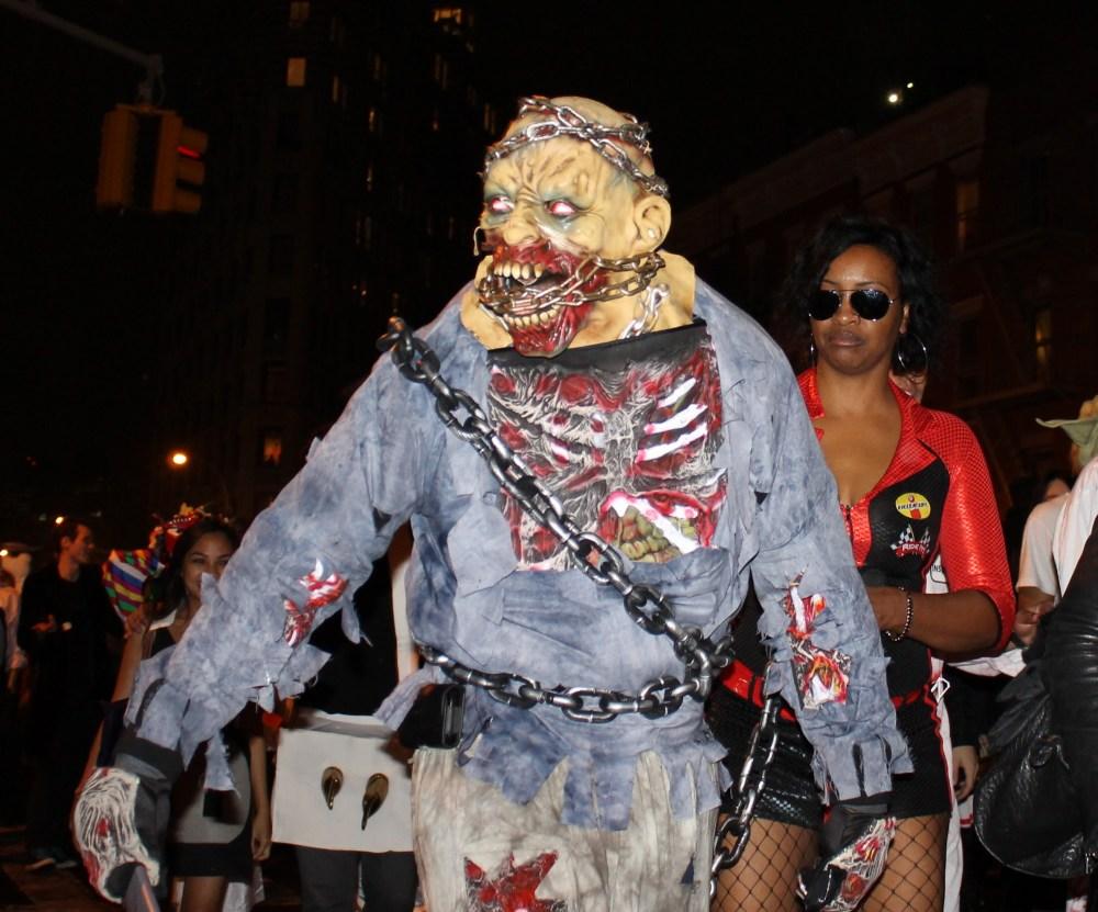 Monster Return for the Village Halloween Parade  (6/6)