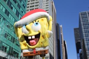 Spongebob saving his hat