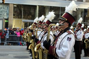 UMass Band blew away the crowd