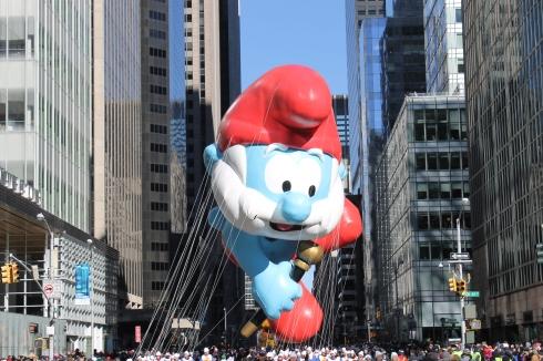 Papa Smurf at the Parade
