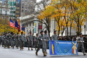 Army Invades the Parade