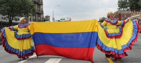 Proud Colombians