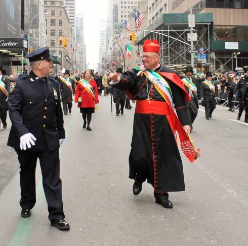 Parade Grand Marshall Cardinal Timothy Dolan