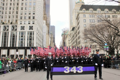 343 FDNY group honoring our heroes