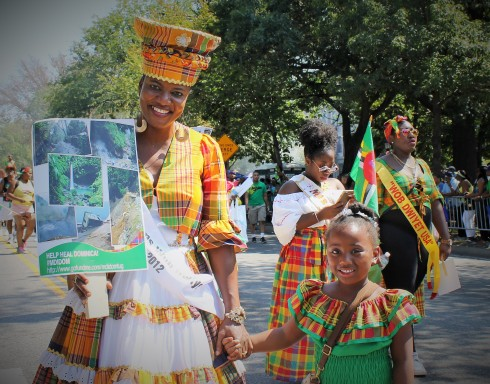 Dominica Visits the Parade