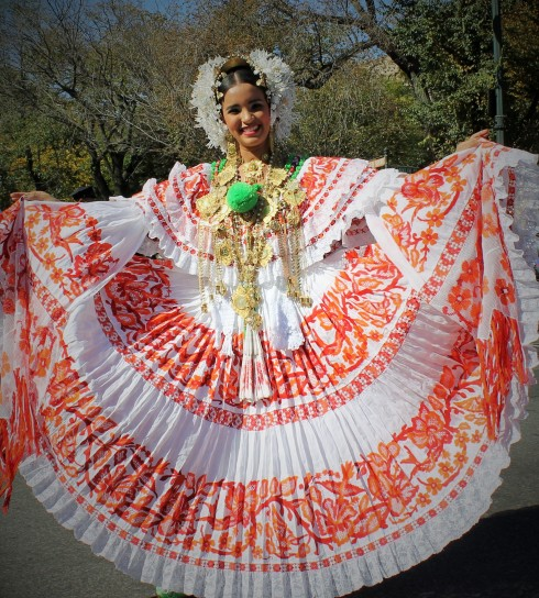Traditional Pollera
